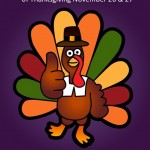 Happy Thanksgiving!  Pilates Bodies Will Be Closed Thursday & Friday